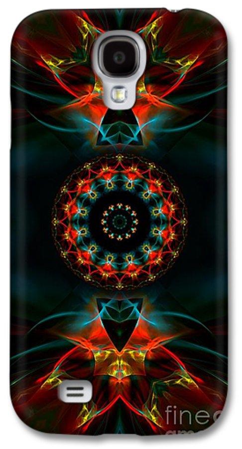 Hanza Turgul Galaxy S4 Case featuring the digital art Spiritual Magic by Hanza Turgul