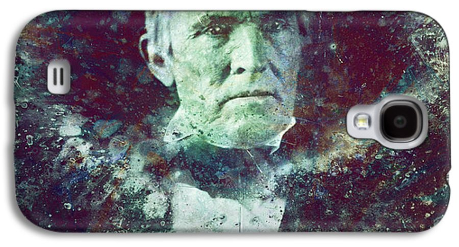 Daguerrotype Galaxy S4 Case featuring the painting Strange Fellow 2 by James W Johnson