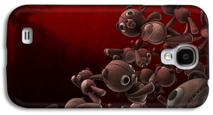 Crowd Galaxy S4 Case featuring the photograph Teddy Bears Crowd by Gianfranco Weiss