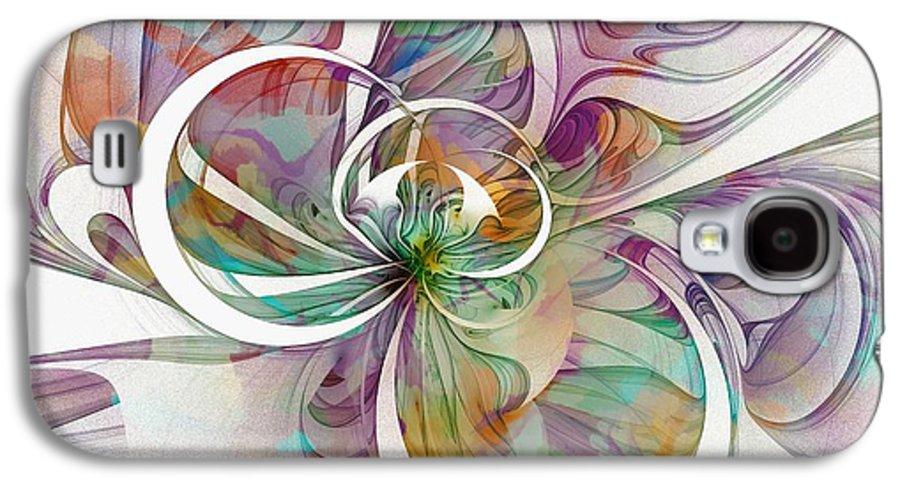 Digital Art Galaxy S4 Case featuring the digital art Tendrils 09 by Amanda Moore