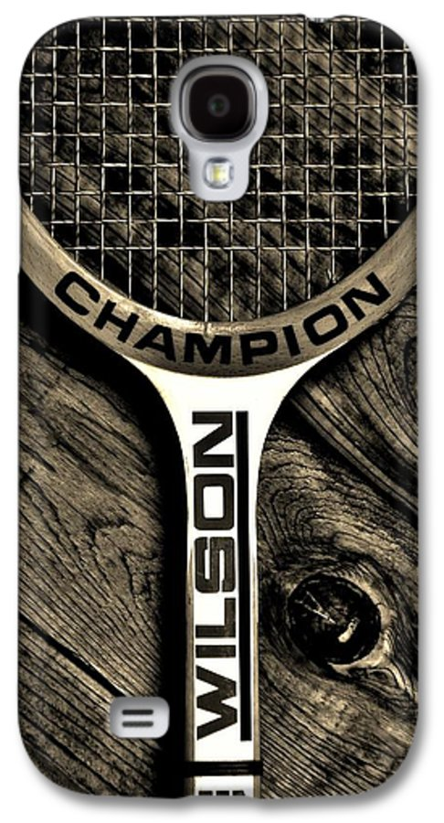 Tennis Galaxy S4 Case featuring the photograph The Art Of Tennis 2 by Benjamin Yeager