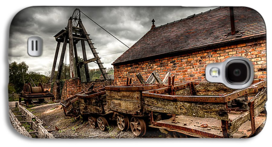 Architecture Galaxy S4 Case featuring the photograph The Old Mine by Adrian Evans