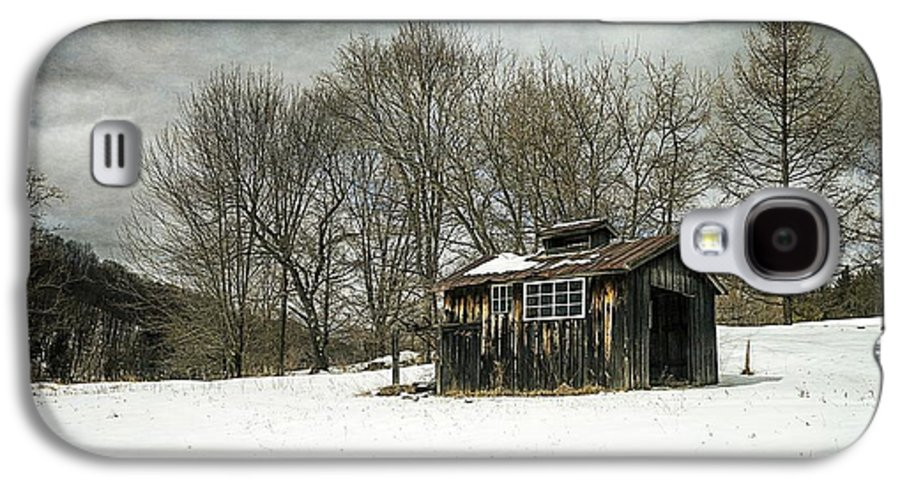 Collection Galaxy S4 Case featuring the photograph The Old Sugar Shack by Edward Fielding
