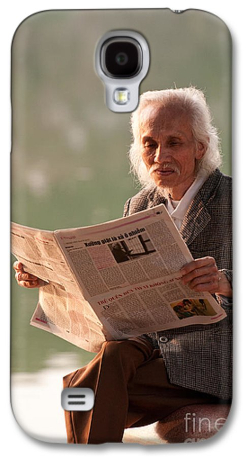 Vietnam Galaxy S4 Case featuring the photograph Vietnamese Man by Rick Piper Photography