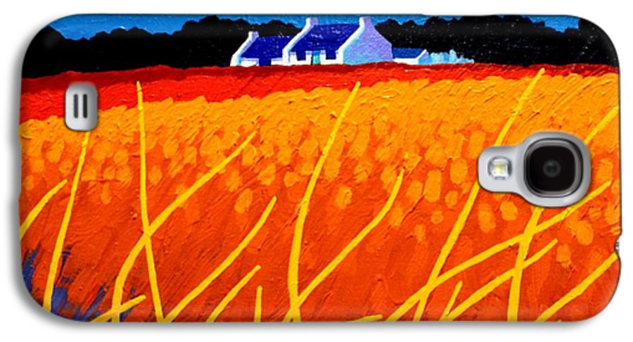 Impresionism Galaxy S4 Case featuring the painting Wicklow Hills by John Nolan
