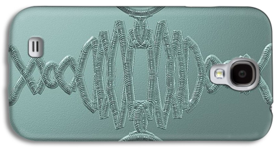 Abstract Galaxy S4 Case featuring the digital art Wild Weld by Brian Johnson