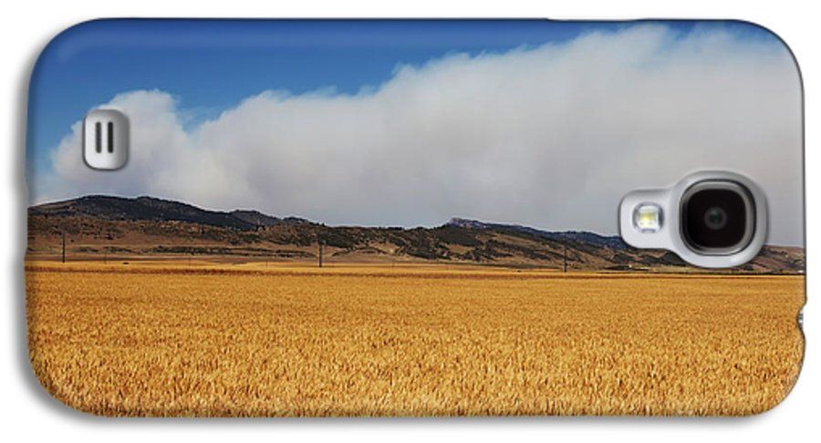 Wildfire Galaxy S4 Case featuring the photograph Wildfire by Jon Burch Photography