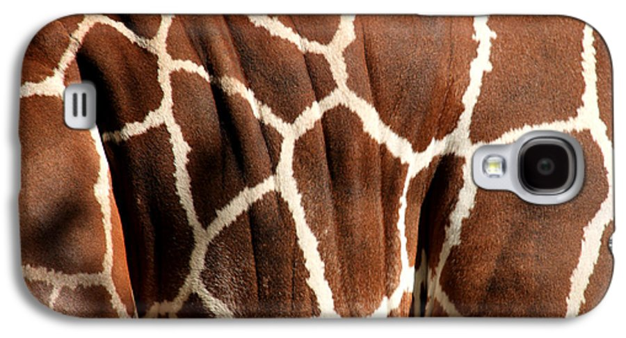 Giraffe Galaxy S4 Case featuring the photograph Wildlife Patterns by Aidan Moran