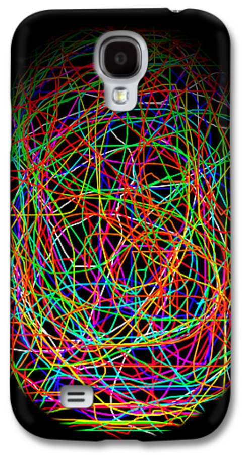 Abstract Galaxy S4 Case featuring the photograph World Web by Aidan Moran