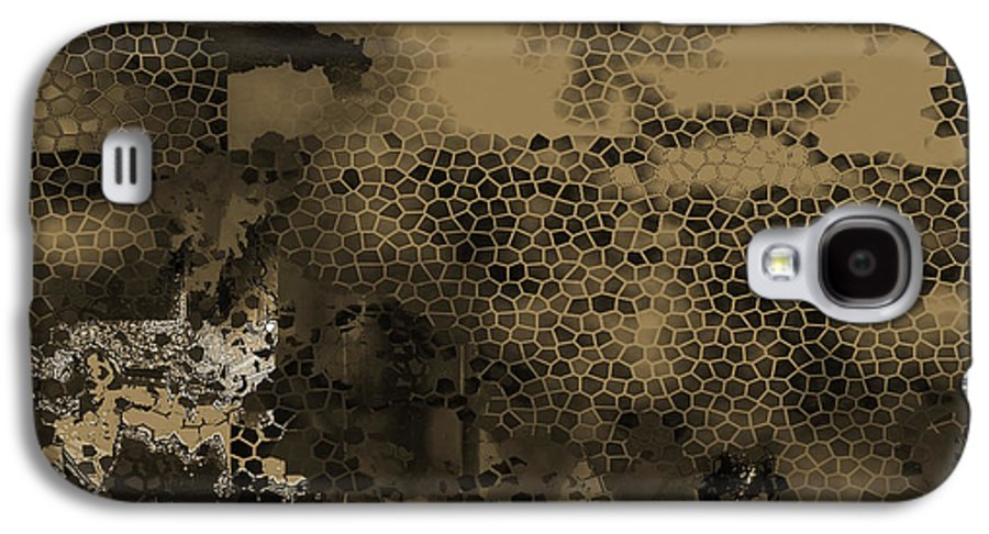 Galaxy S4 Case featuring the mixed media X by Yanni Theodorou