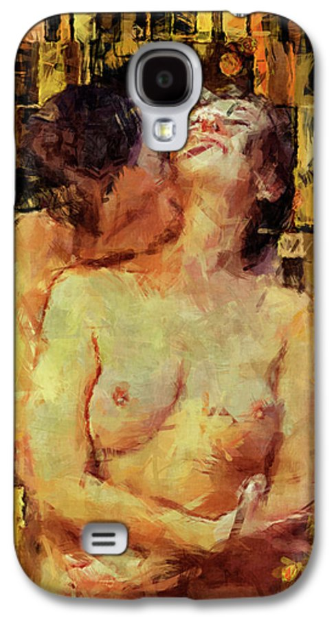 Nude Galaxy S4 Case featuring the photograph You're Mine by Kurt Van Wagner