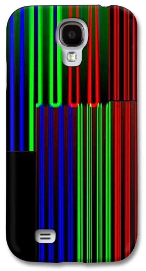 Abstract Fusion Galaxy S4 Case featuring the digital art Abstract Fusion 135 by Will Borden