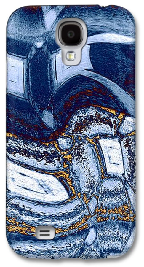 Abstract Fusion Galaxy S4 Case featuring the digital art Abstract Fusion 137 by Will Borden