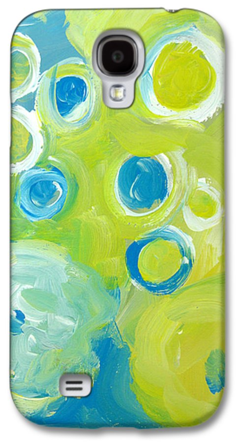 Abstract Art Galaxy S4 Case featuring the painting Abstract IIII by Patricia Awapara