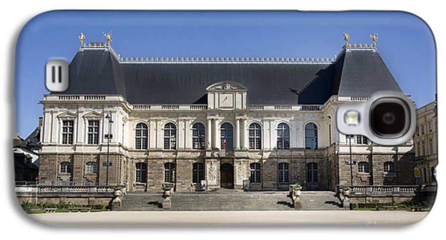 Ancient Galaxy S4 Case featuring the photograph Brittany Parliament by Jane Rix