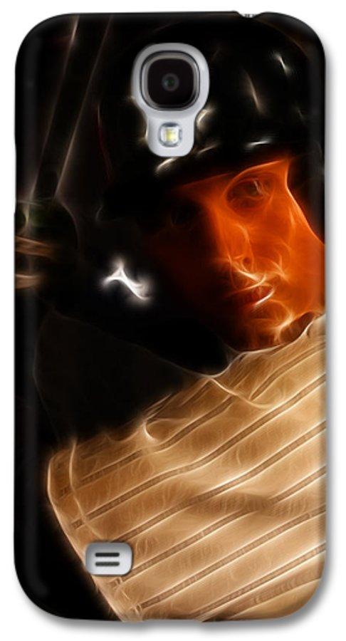 Lee Dos Santos Galaxy S4 Case featuring the photograph Derek Jeter - New York Yankees - Baseball by Lee Dos Santos