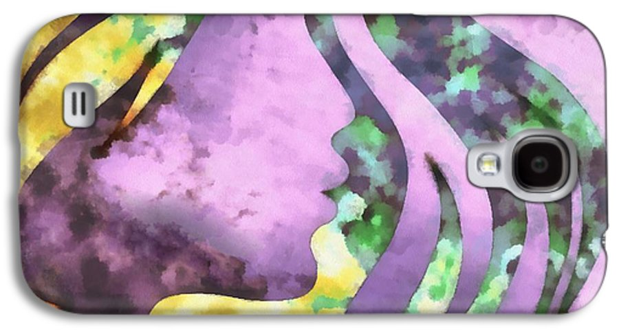 Wonder Galaxy S4 Case featuring the digital art I Should Have Said Goodbye 1 by Angelina Vick