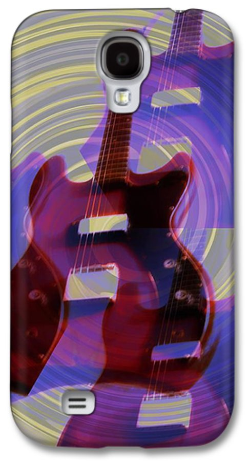 Guitar Galaxy S4 Case featuring the photograph Jet Screamer - Guild Jet Star by Bill Cannon