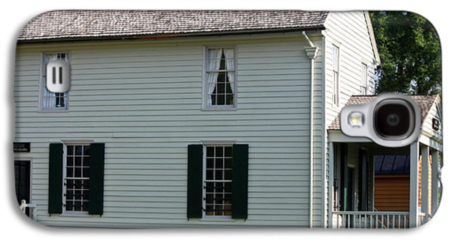 Appomattox Galaxy S4 Case featuring the photograph Meeks Store Appomattox Court House Virginia by Teresa Mucha