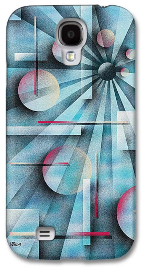 Digital Galaxy S4 Case featuring the painting Shades Of Fibonacci by Hakon Soreide