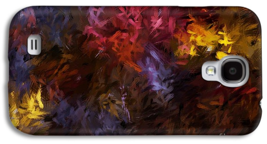 Abstract Galaxy S4 Case featuring the digital art Abstract 5-23-09 by David Lane