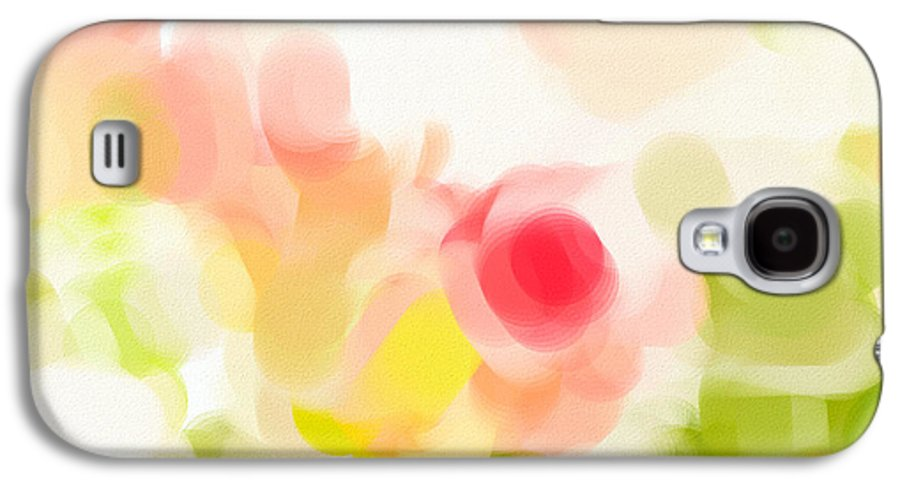 Abstract Galaxy S4 Case featuring the photograph Abstract Roses by Tom Gowanlock
