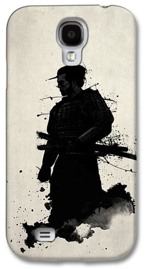 Samurai Galaxy S4 Case featuring the painting Samurai by Nicklas Gustafsson