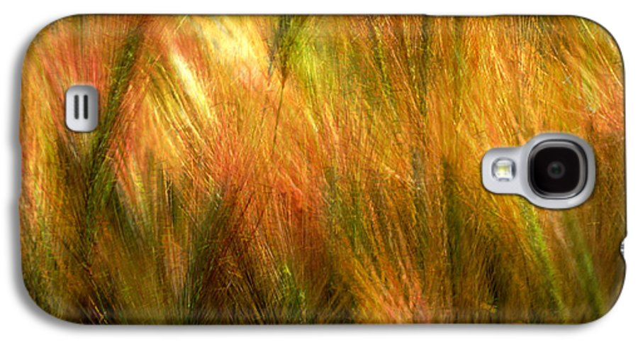 Abstract Galaxy S4 Case featuring the photograph Cat Tails by Paul Wear