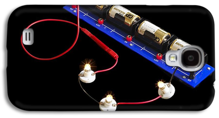 Experiment Galaxy S4 Case featuring the photograph Electrical Circuit by