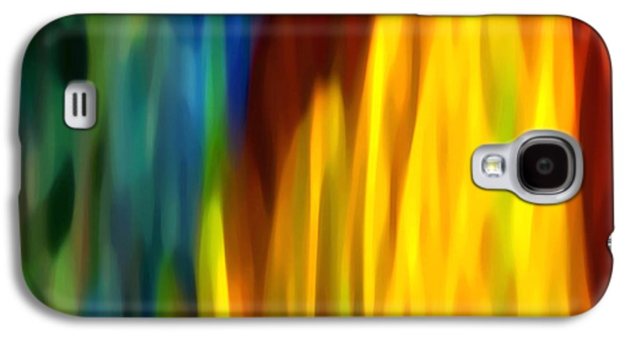 Fire Galaxy S4 Case featuring the painting Fire And Water by Amy Vangsgard