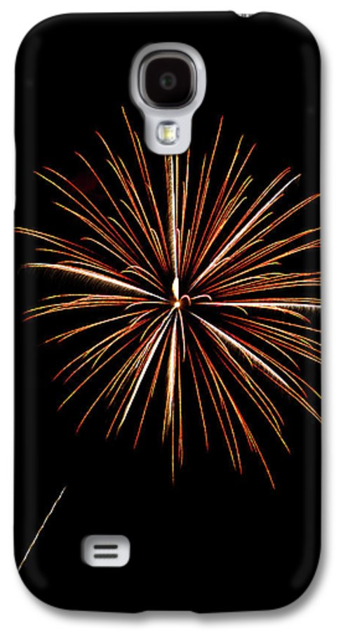 Frieworks Galaxy S4 Case featuring the photograph Fire Works by Gary Langley