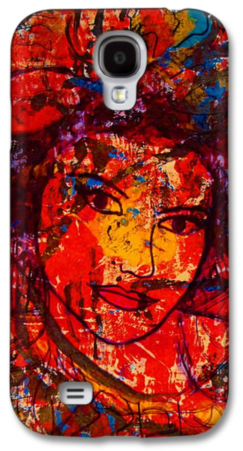 Portrait Galaxy S4 Case featuring the painting Self-portrait-5 by Natalie Holland