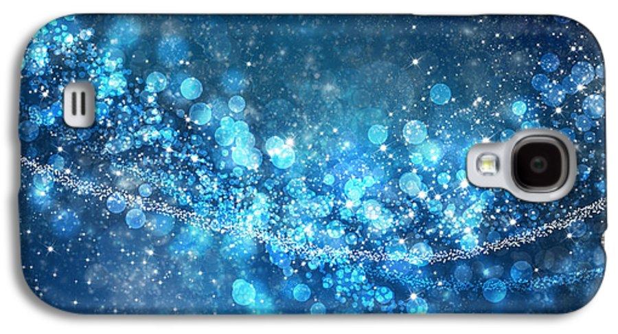 Abstract Galaxy S4 Case featuring the photograph Stars And Bokeh by Setsiri Silapasuwanchai