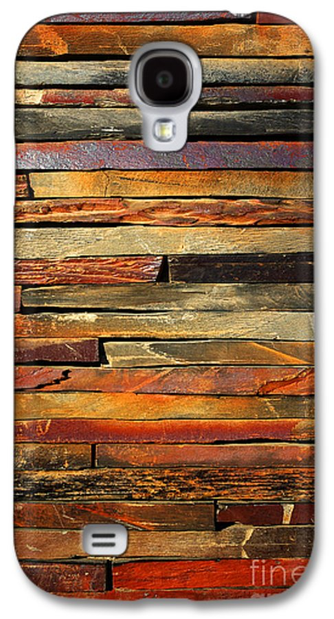 Abstract Galaxy S4 Case featuring the photograph Stone Blades by Carlos Caetano