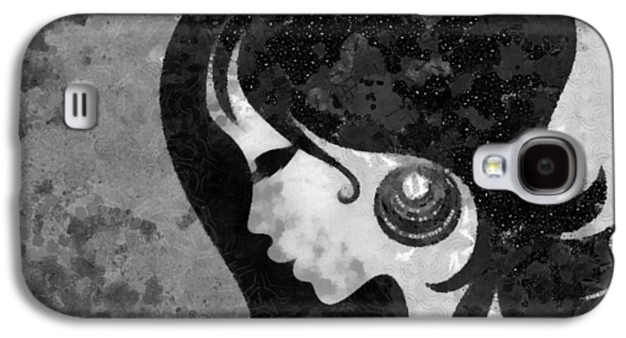 Wonder Galaxy S4 Case featuring the mixed media You Are The Only One 2 by Angelina Vick