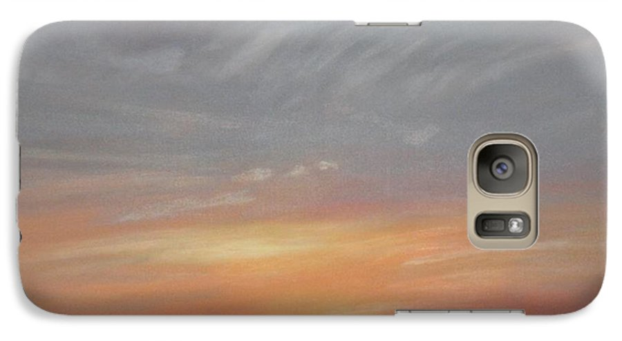 Western Galaxy S7 Case featuring the painting Open To All by Janis Mock-Jones