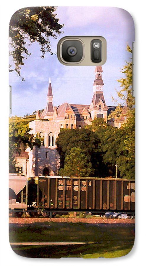 Landscape Galaxy S7 Case featuring the photograph Park University by Steve Karol
