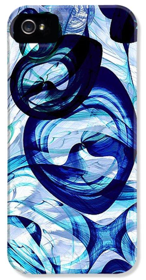 Malakhova IPhone 5 / 5s Case featuring the digital art Immiscible by Anastasiya Malakhova