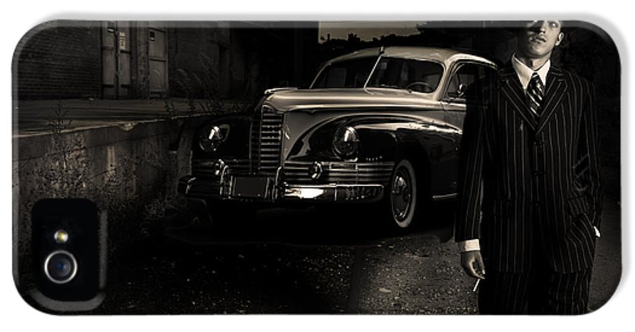 Gangster IPhone 5 / 5s Case featuring the photograph Gangster by Diane Diederich