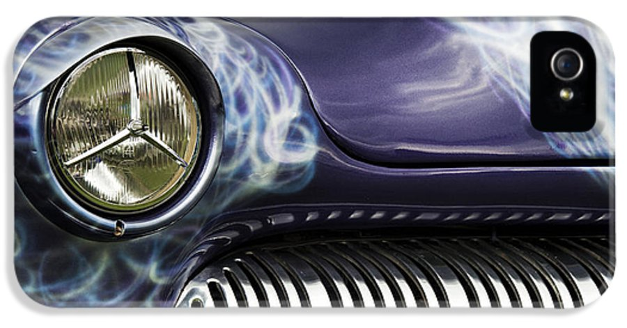 1949 IPhone 5 / 5s Case featuring the photograph 1949 Mercury Eight Hot Rod by Tim Gainey