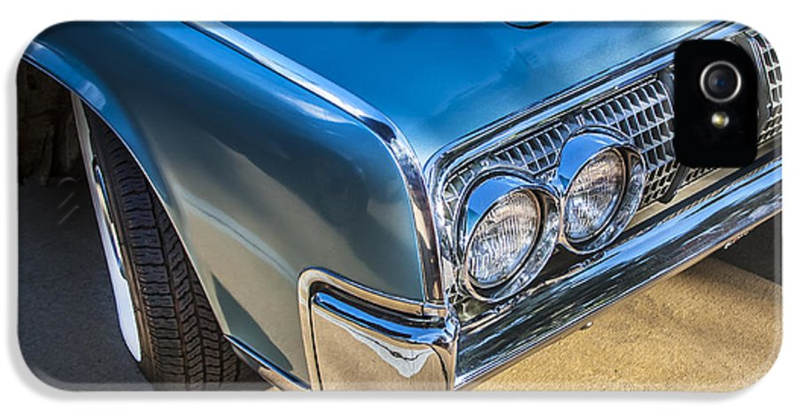 Lincoln IPhone 5 / 5s Case featuring the photograph 1964 Lincoln Continental Convertible by Rich Franco
