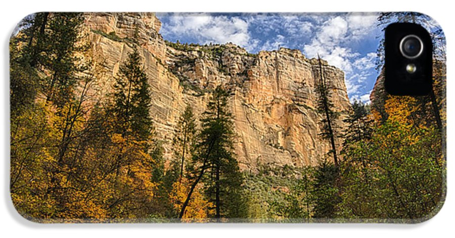 Fall IPhone 5 / 5s Case featuring the photograph The Hills Of Sedona by Saija Lehtonen