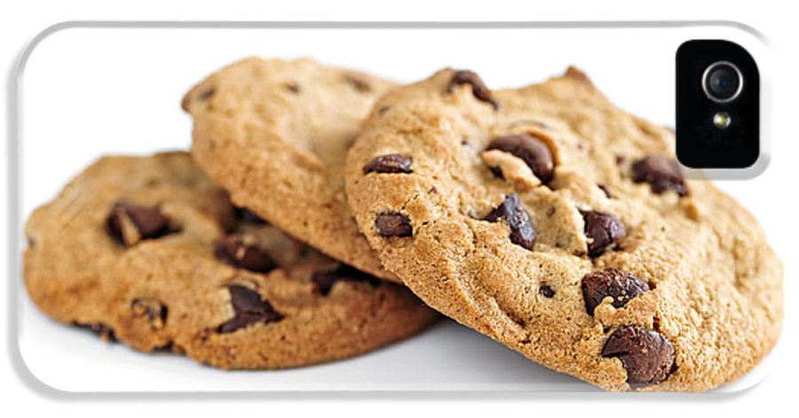Cookies IPhone 5 / 5s Case featuring the photograph Chocolate Chip Cookies by Elena Elisseeva