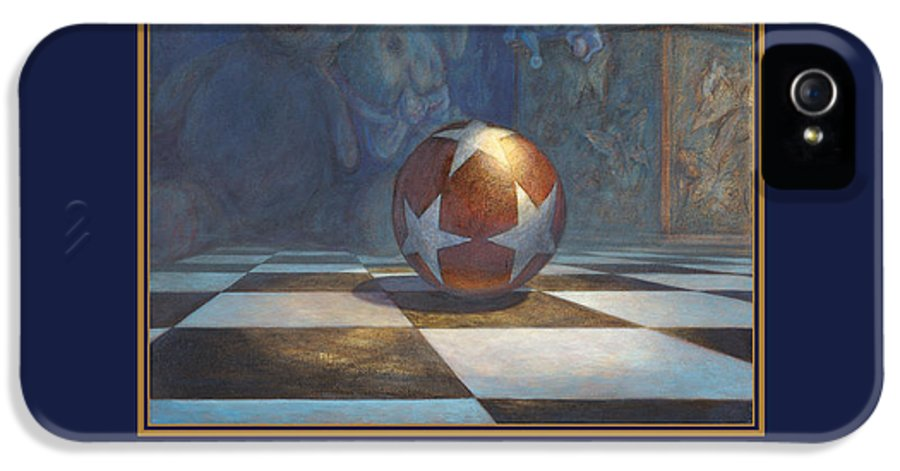 Filgate IPhone 5 / 5s Case featuring the painting The Ball by Leonard Filgate