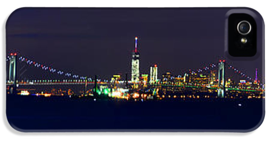 Nyc IPhone 5 / 5s Case featuring the photograph 4th Of July New York City by Raymond Salani III