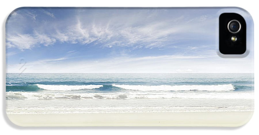 Beach IPhone 5 / 5s Case featuring the photograph Beach by Les Cunliffe