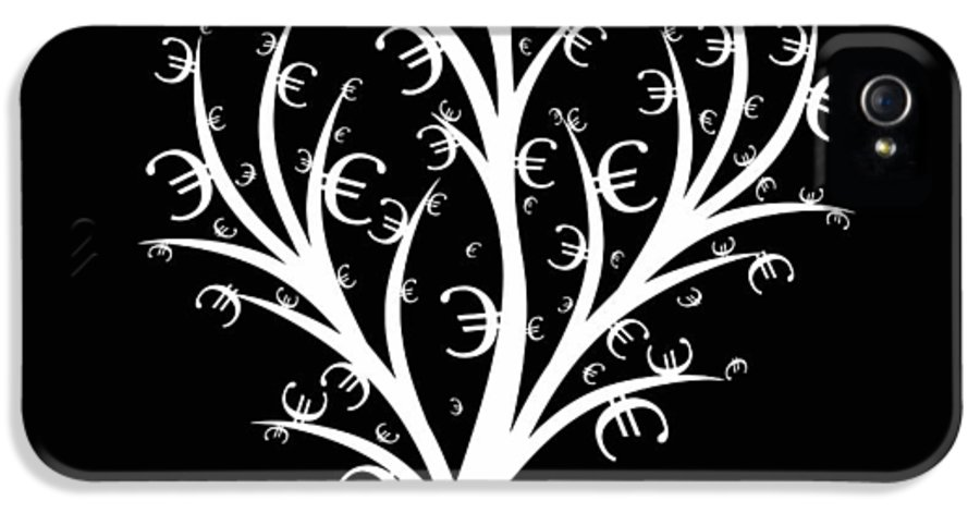 Abstract IPhone 5 / 5s Case featuring the photograph Money Tree by IB Photo