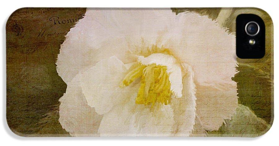 Jordan Blackstone IPhone 5 / 5s Case featuring the painting A Place Of Peace - Vintage Art by Jordan Blackstone