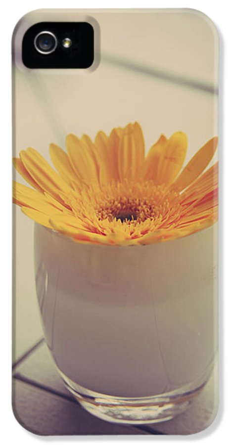 Flowers IPhone 5 / 5s Case featuring the photograph A Simple Thing by Laurie Search