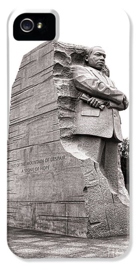 Washington IPhone 5 / 5s Case featuring the photograph A Stone Of Hope by Olivier Le Queinec